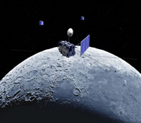 Selene Mission to Moon